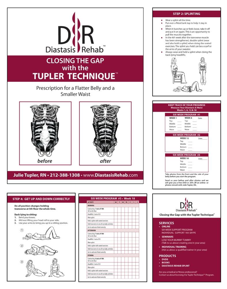 Diastasis Rehab Booklet
