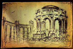 Palace of Fine Arts - sketc