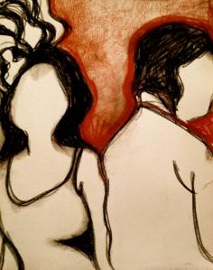 Woman sketch 3