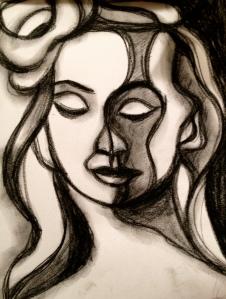 Woman sketch 4