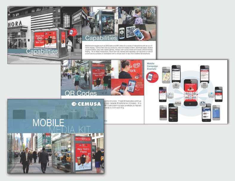 Mobile Media Kit layout
