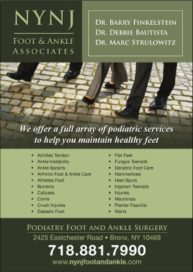 NYNJ Foot & Ankle Associates Poster