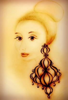 Girl with earing or Anna Karenina