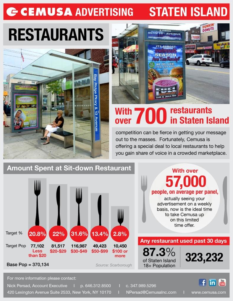 Cemusa Restaurants Staten Island NYC-1